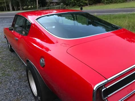 plymouth barracuda fastback race car  street car