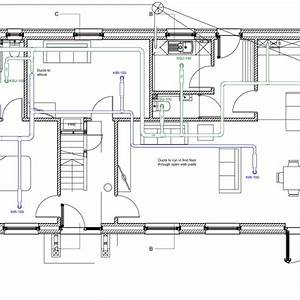 Designing The Ventilation  Heating  And Hot And Cold Water