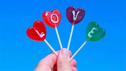 Lollipop Wallpapers Candy Llove Pixelstalk Shaped Heart