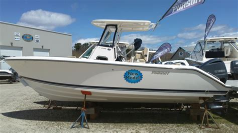 New Center Console Fishing Boats by 2016 New Pursuit C 238 Center Console Fishing Boat For