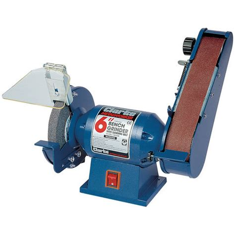 best bench grinder bench grinder with 2 quot inch sanding belt clarke cbg6sb ebay