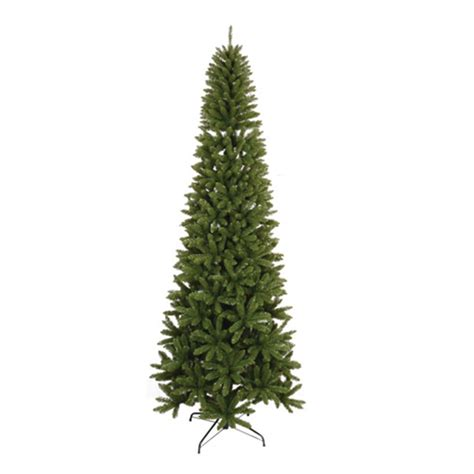unlit white trees slim 9 ft unlit slim artificial tree with 1302 tips 13529 the home depot