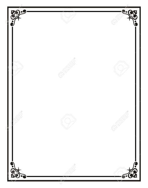 Template borders for microsoft word source : frames templates for word documents - Tenak