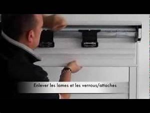 Changer Enrouleur Volet Roulant : changer le tablier lames de volet roulant youtube ~ Dailycaller-alerts.com Idées de Décoration
