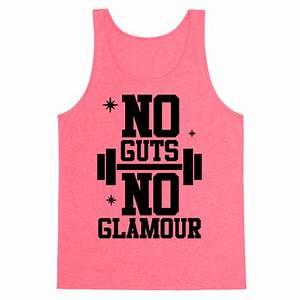 No Guts No Glamour Tank Tops HUMAN