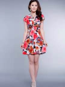 Short Floral Summer Dress