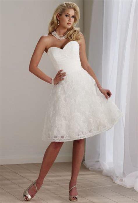 short wedding reception dresses