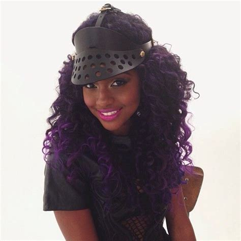Purple Hair On Black Women Done Tastefully Page 2 Hair