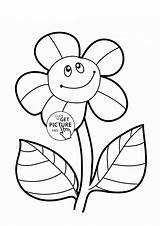 Sunflower Coloring Flower Pages Sunflowers Colouring Funny Simple Printables Drawing Flowers Printable Wuppsy Preschool Ginny Template Sheets Weasley Getdrawings Bud sketch template