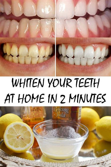 teeth whitening minutes whiten hacks know effective must remedies beauty easily natural own help diy tips dentes leave without homemade
