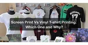 Screen Printing Vs Vinyl