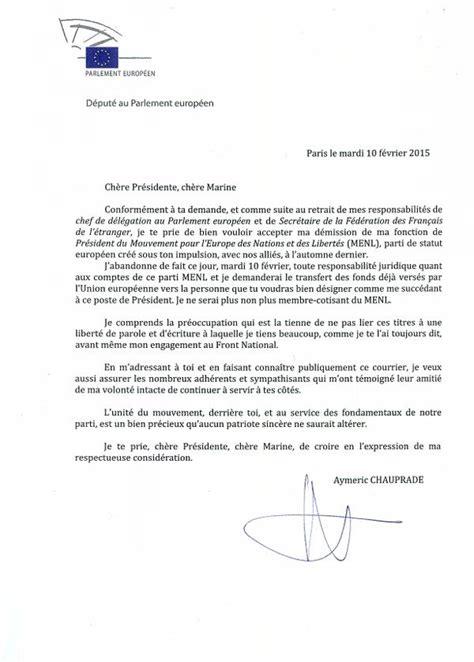 modèle lettre de démission contractuel fonction publique lettre de demission traduction application letter