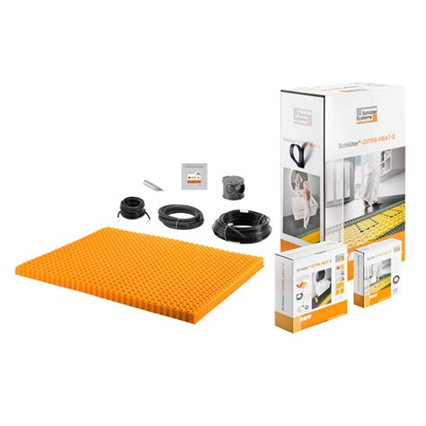 Schluter Heated Floor Kit by Ditra Heat Tb Underfloor Heating Thermal Floor Kits Buy