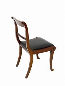 Stuhl Sitzhöhe 50 Cm : stuhl lehnstuhl sitzm bel englischer stil mahagoni mit schwarzem leder 3279 m bel sitzm bel st hle ~ Markanthonyermac.com Haus und Dekorationen