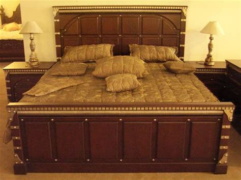 latest modern chiniot furniture designs  bed design modern wooden bed design furniture