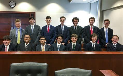 senior mock trial team advances state competition jesuit high