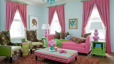 15 Pretty In Pink Living Room Designs  Home Design Lover