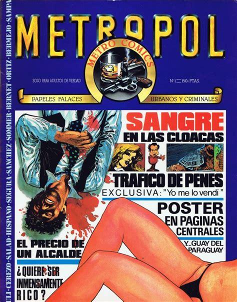 foto de METROPOL (1983 METROPOL) 1 Ficha de número en Tebeosfera