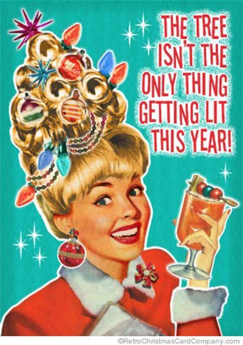 funny christmas party retro invitations vintage invitations