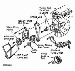 2002 Mazda Protege Serpentine Belt Diagram