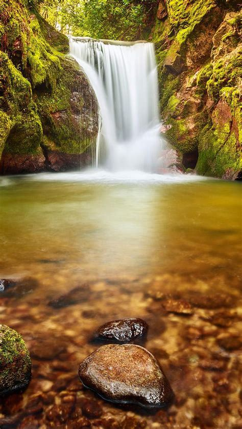 water fall    wallpapers  water fall cool mobile