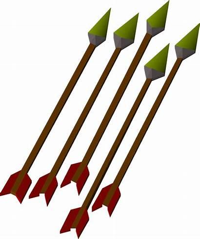 Arrows Runescape Osrs Iron Arrow Qtoptens