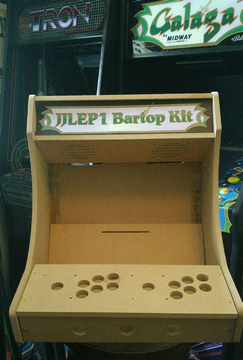 2p bartop tabletop arcade cabinet diy kit flat pack mdf