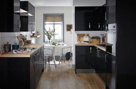 Kitchen Ideas B And Q by It Santini Gloss Black Slab Diy At B Q Wish List