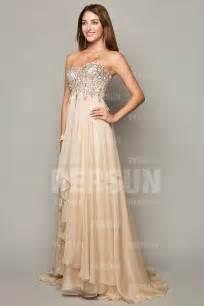 robe de cocktail pour mariage chic robe soirée chic à bustier splendide persun fr