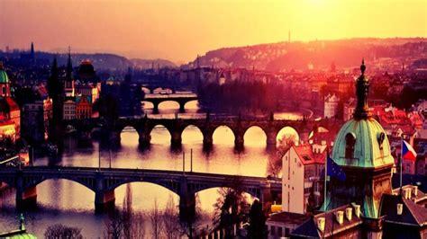 prague cityscape czech republic hd wallpaper wallpaper