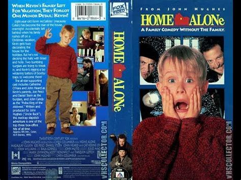 Opening To Home Alone 1991 Vhs Youtube