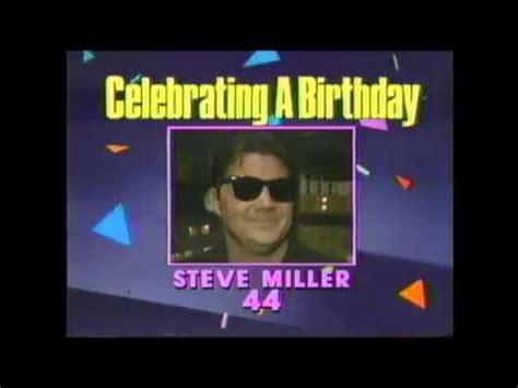 (1987) Entertainment Tonight - Celebrity Birthday's - YouTube