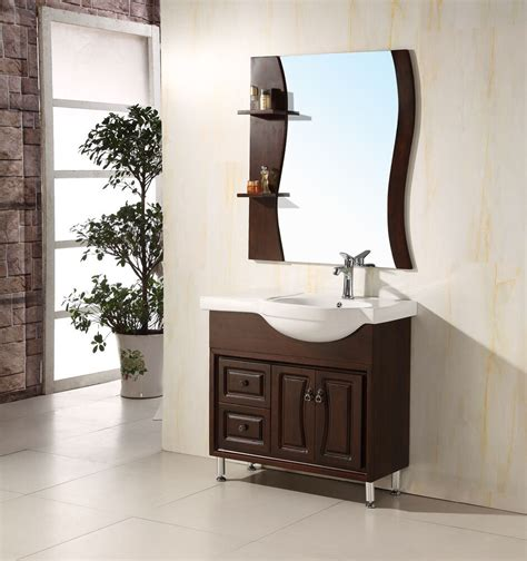 Solid Wood Bathroom Cabinet by 36 Quot Solid Wood Modern Contemporary Design Bathroom Vanity
