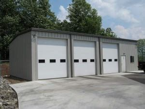 Preengineered Metal Garages » Champion Buildings