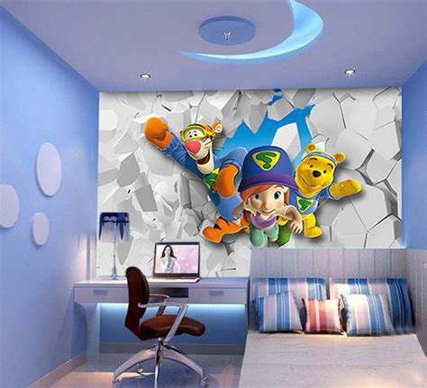 papier peint chambre moderne papier peint 3d pour enfant