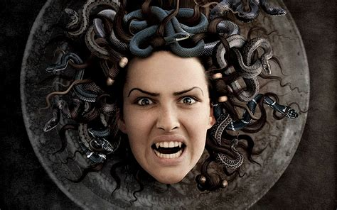 The Face Of Medusa Wallpaper (8388) - Wallpaperesque