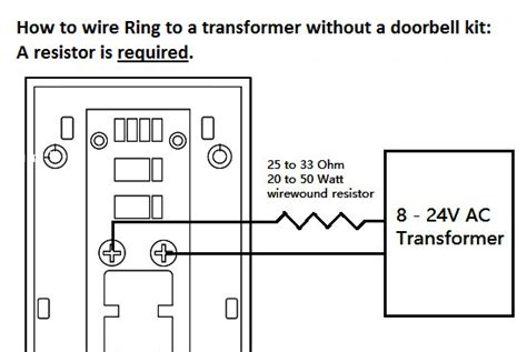 how to install a doorbell with transformer side of ring doorbell electronics forums