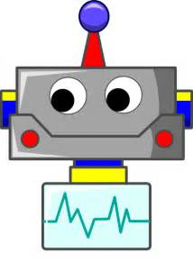 Robot Face Cartoon Clip Art