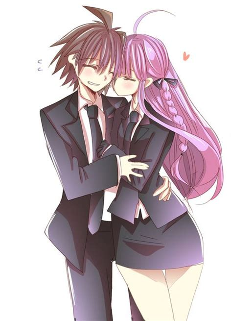 foto de Makoto and Kyoko Danganronpa Danganronpa trigger happy