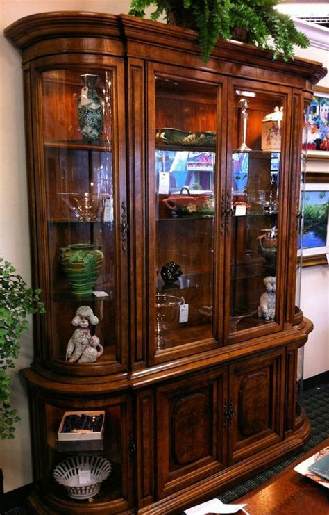 Berhardt Hibriten Lighted China Cabinet. $1395   Sanctuary
