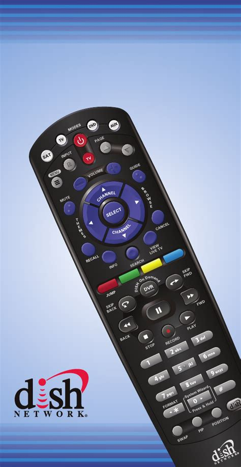 Remote Manual by Dish Network Universal Remote 32 0 User Guide