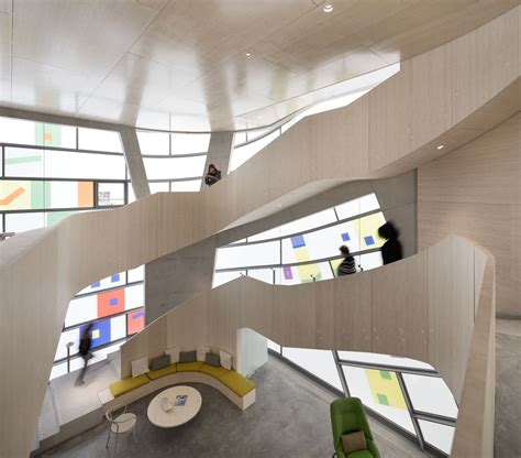 Maggies Centre Barts In by Steven Holl Unveils His Light Filled Maggie S Centre For
