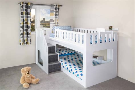 wooden loft bed the plans of bunk beds with stairs the wooden houses