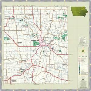 Winneshiek County Iowa Map