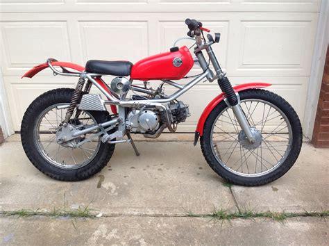 1974- Honda Tl125 Trials Machine
