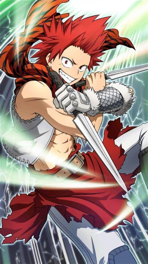 kirishima epic art boku  hero academia kirishima art