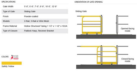mezzanine sliding gate design waymarc racking