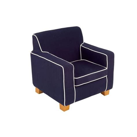 canape convertible bleu fauteuil enfant laguna boy fibre chimique marine bleu
