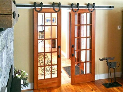 interior barn doors for homes interior barn door kit with glass panel home interiors