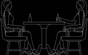 People Sitting Chatting Dwg Block For Autocad  U2013 Designs Cad